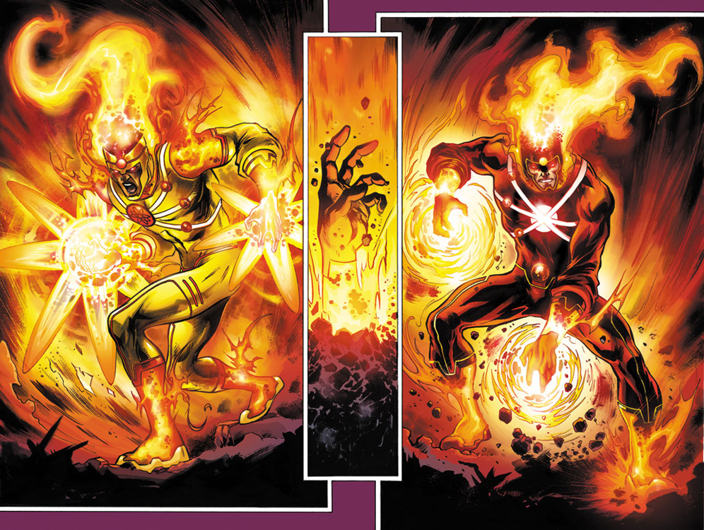 FURY OF FIRESTORM splash by Cinar