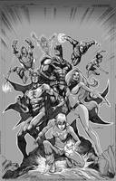 Justice League International by Cinar