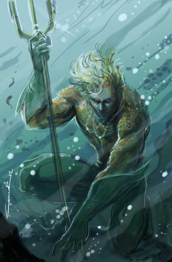 Aquaman digital by Cinar