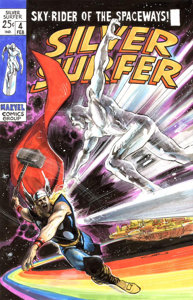 Silver Surfer cover by Cinar