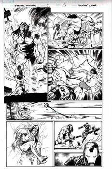 Superior Iron Man Issue 1 page 5