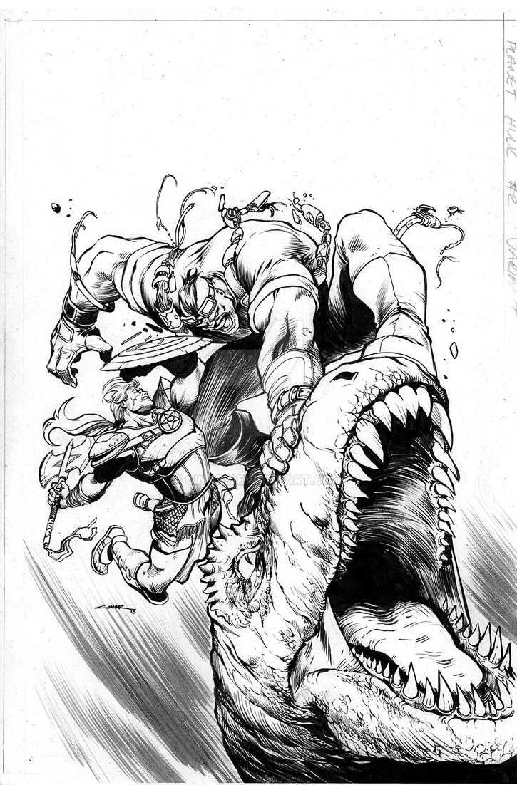 Planet Hulk 2 variant by Cinar