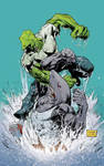 Savage Dragon vs. Mako