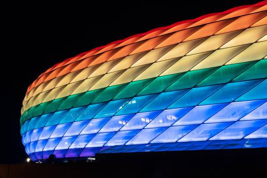 Allianz Arena, Christopher Street Day 2019