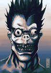 Shinigami Ryuk - Deathnote Fanart