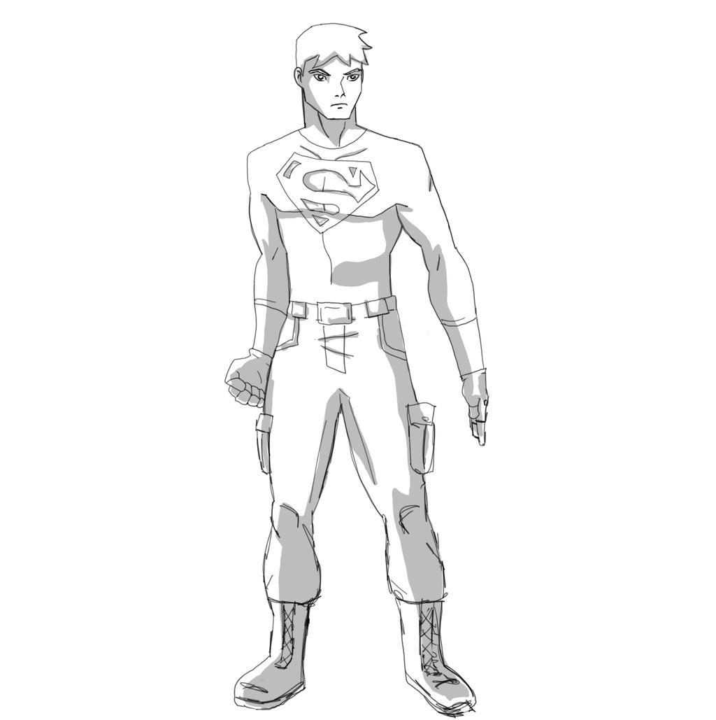 Superboy Young Justice By JTmovie