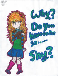 Why Do You Have to Be So.... Shy by Darkstar1000