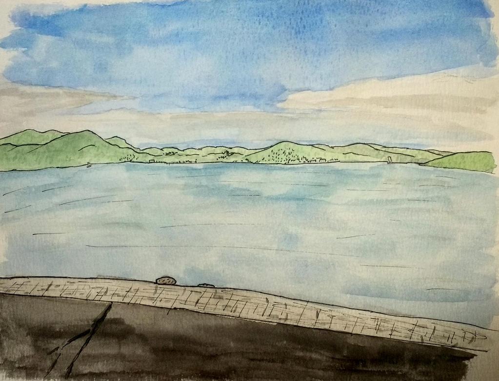 SF Bay looking north by llamallink
