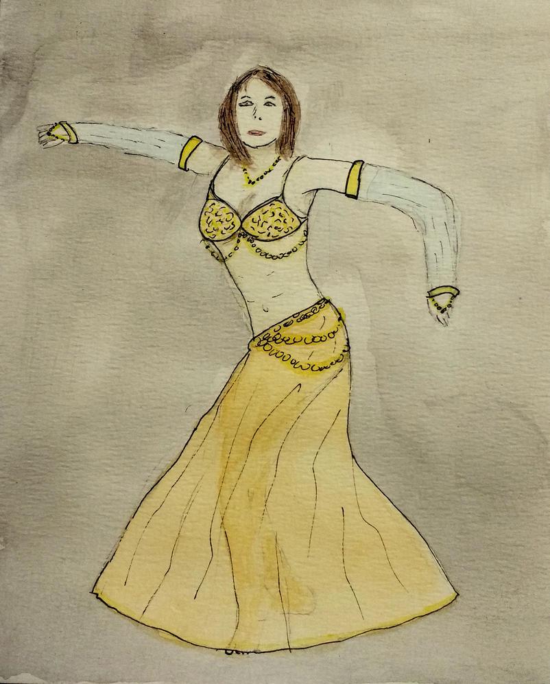 Belly Dancer by llamallink