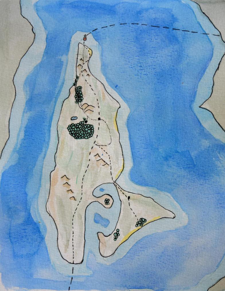 Vashon Map by llamallink