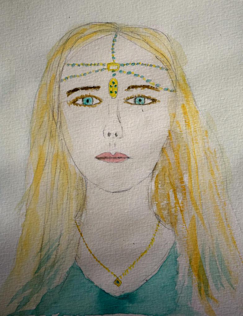 Pale Maiden by llamallink