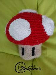 Mushroom from Super Mario by Raichely
