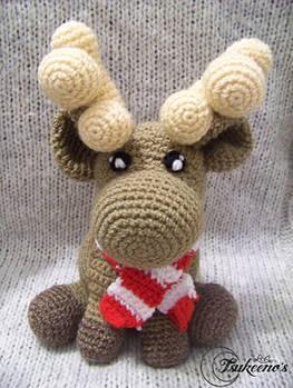 Christmas Reindeer amigurumi