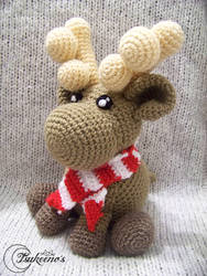 Santa's Reindeer amigurumi