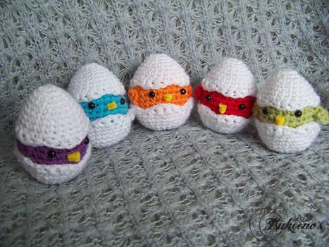 Eggs in colour!