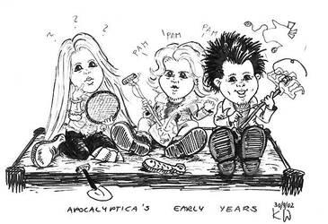 Apocalyptica cartoon