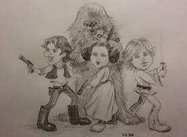 Star Wars New Hope cartoon