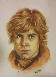 Luke Skywalker water color