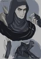 Thief - doodles by GinkgoLouve