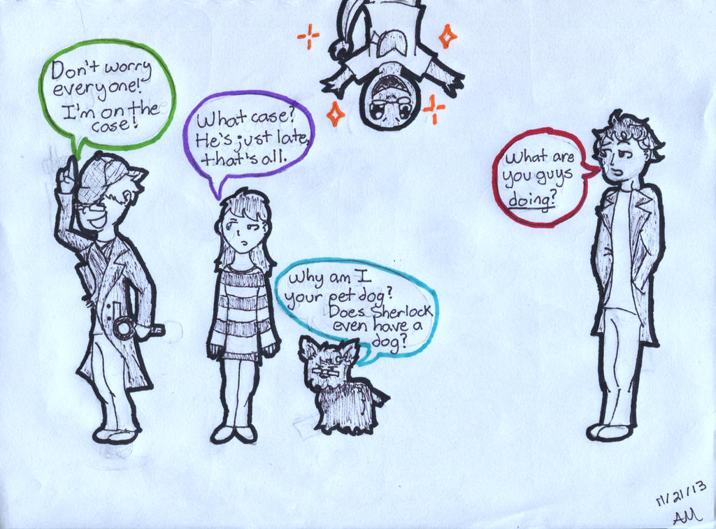 Elementary, Dear Watson! by PuppyDawg1022