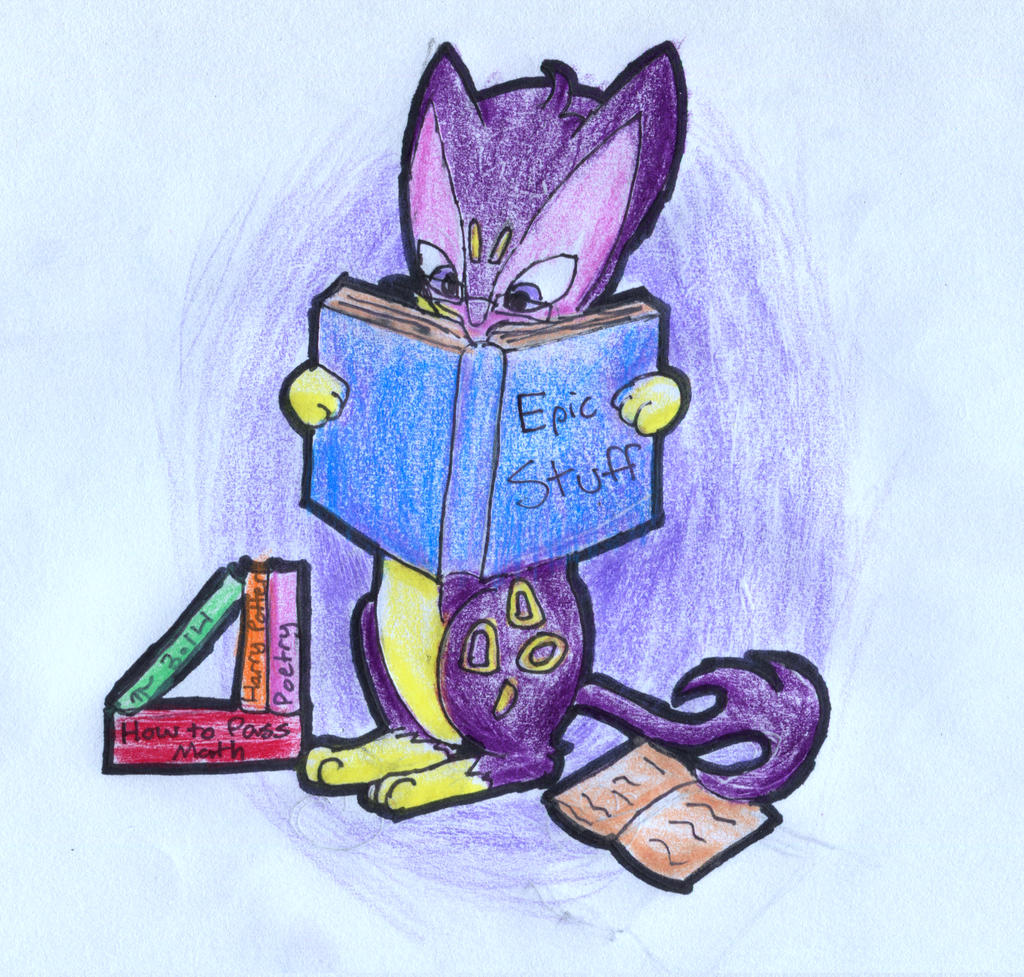 Bookworm Liepard by PuppyDawg1022