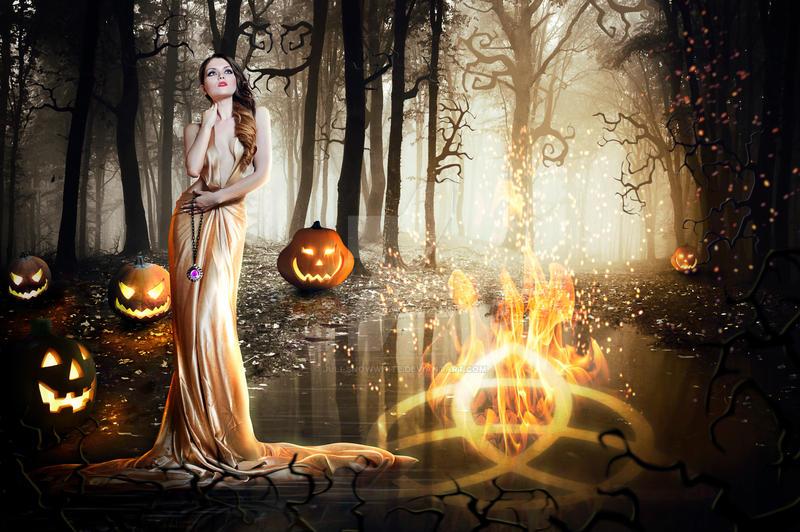 Earth Fire and Magic by Juli-SnowWhite