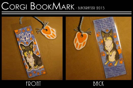 Corgi Bookmark .:PC:. by BlackRayser