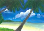 Tropical Seaside by BlackRayser