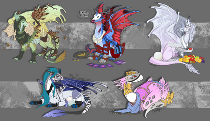 FlightRising Commissions by BlackRayser