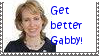 Rep Giffords Get Better Stamp by Carbonated-Cat
