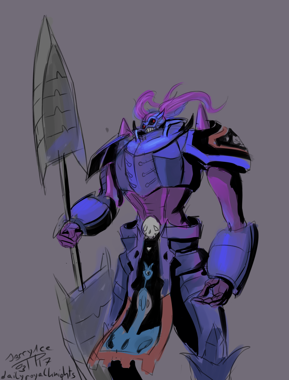 Daily Royal Knights (8) Craniummon by J3rry1ce