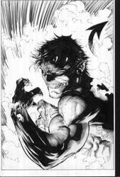 New X-men cover inks
