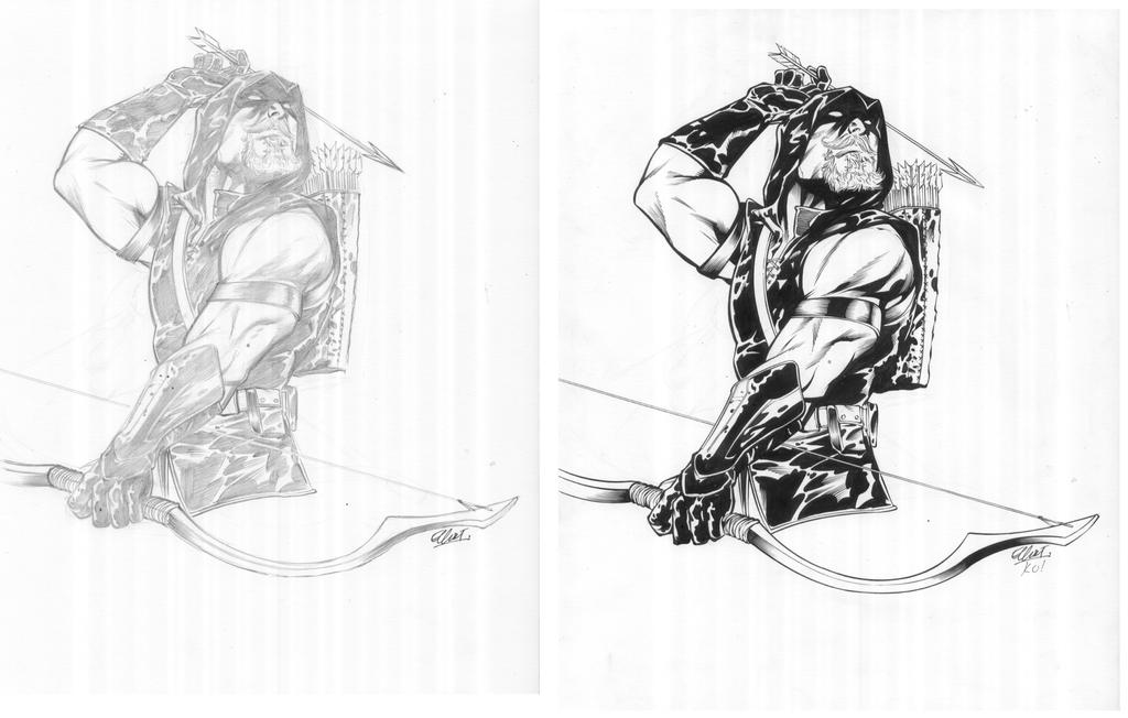 Green Arrow Commission 2 By TonyKordos On DeviantArt
