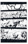avenging spiderman sample page
