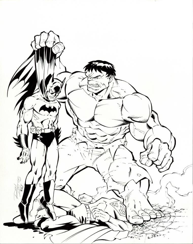 Hulk Smash puny DC by TonyKordos