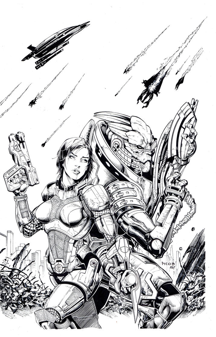 Coloring Book Effect Mass Inks By Tonykordos On Deviantart