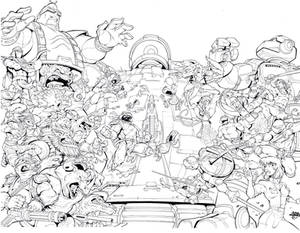 30th anniversary Tmnt variant Cover Inks