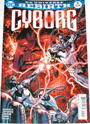 Cyborg issue 5 cover
