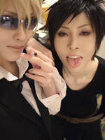 Don't mess with Shizuo and Izaya- Cosplay by Teicosplayer