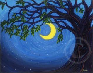 Moon-Dreams-Gina-Watkins-22-x-28 by ArtistSooHoo