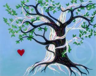 Tree Huggers by ArtistSooHoo
