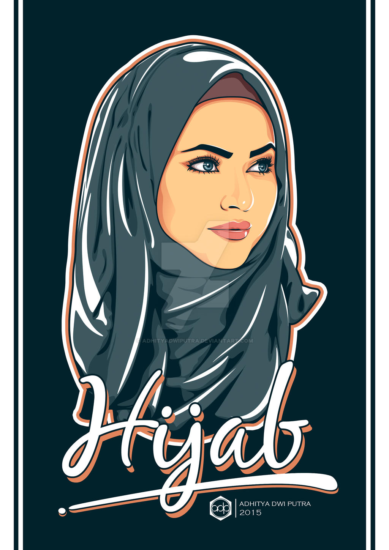 adpvector hijab by adhityadwiputra on deviantart