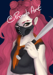Lineless/ One Layer WIP 2 by Prouds-Art