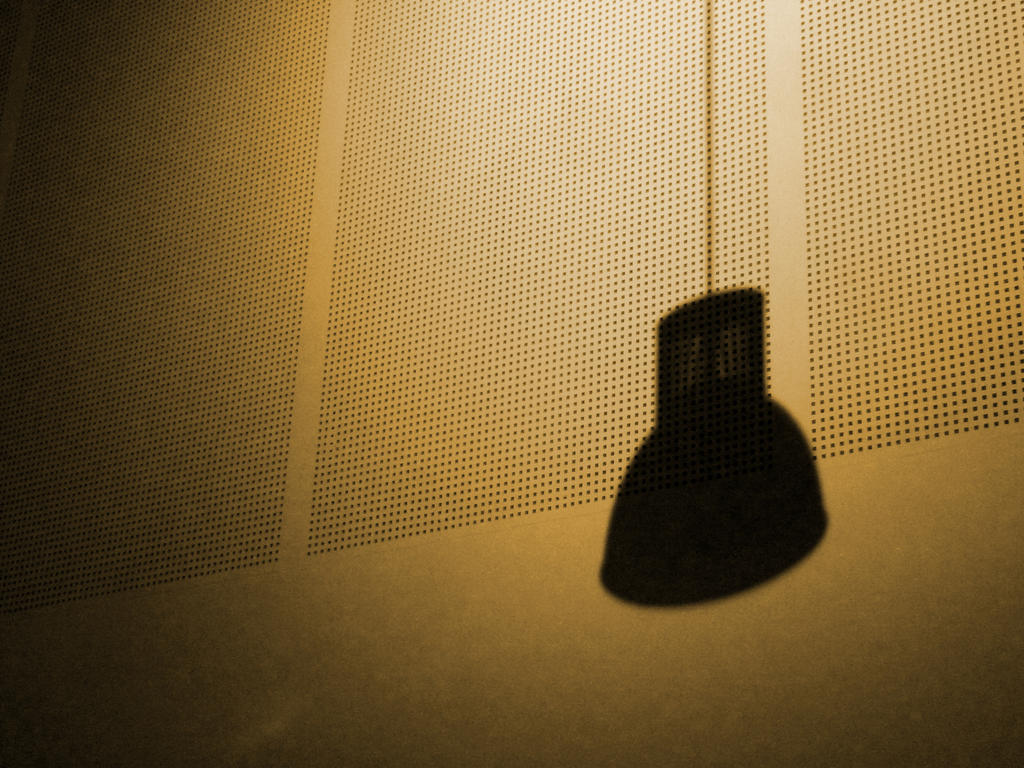 a lamps shadow by LeuNoe