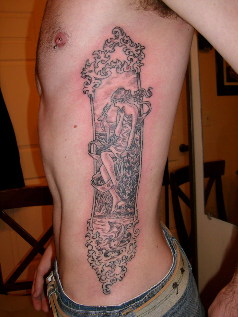 Rib Tattoos On Both Sides | Great Tattoos