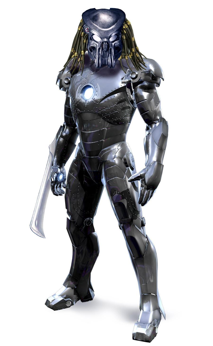 Predador + Homem de Ferro =