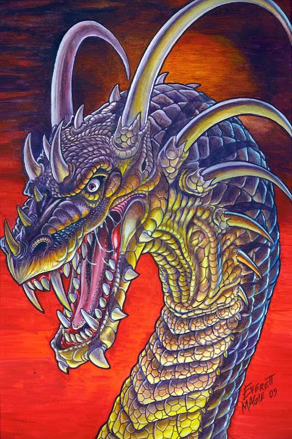 Portrait of a Drgon by Xagamus