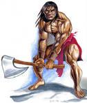 Conan Watercolor