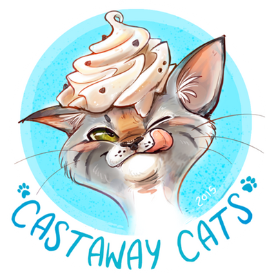 Castaway Cats Bake Sale! by colonel-strawberry