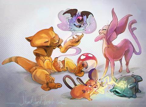 Pokemon are weird
